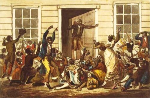 Black Peoples Prayer Meeting - John Lewis Krimmel