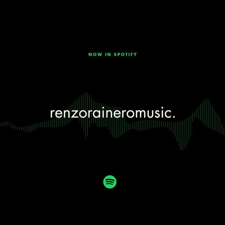 Seguinos en #Spotify ⭐ RENZORAINEROMUSIC ⭐ y escuchá nuestra selección musical pensada exclusivamente para vos:  https://play.spotify.com/user/renzoraineromusic/playlist/0pSBZP9MplibrqvaCw0tMu