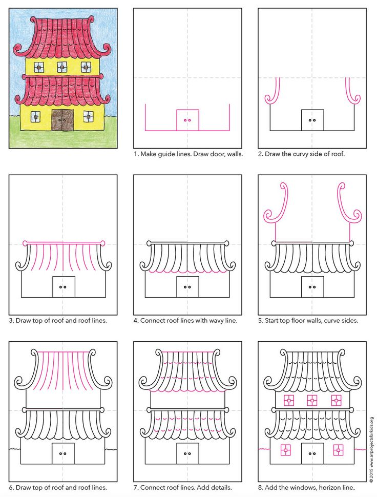 Asian House diagram