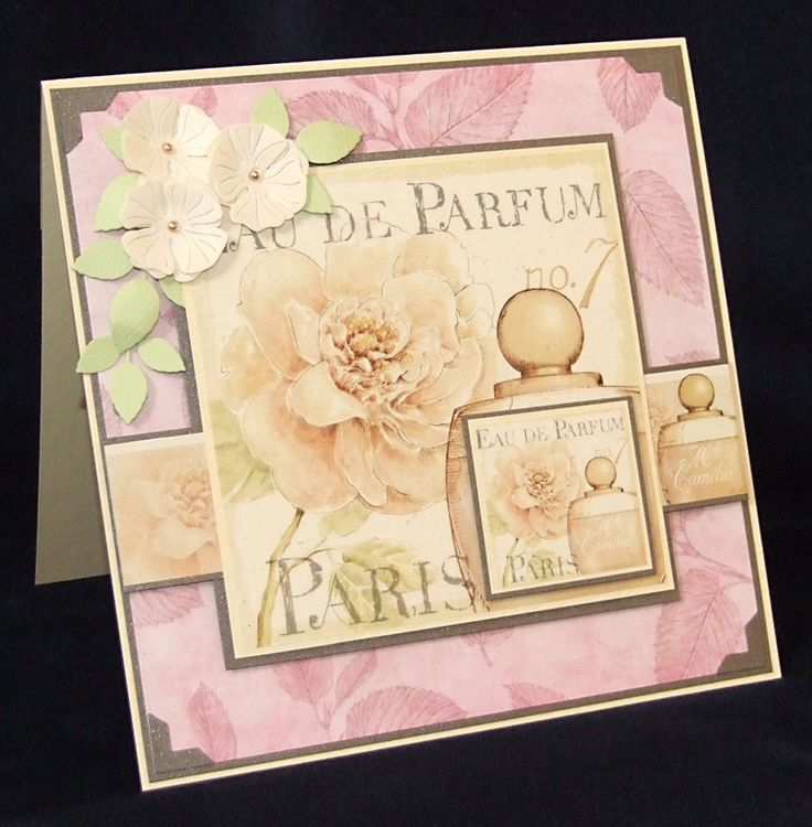 An unapologetically girly card for today – just the thing for a Mum, sister or best frie...