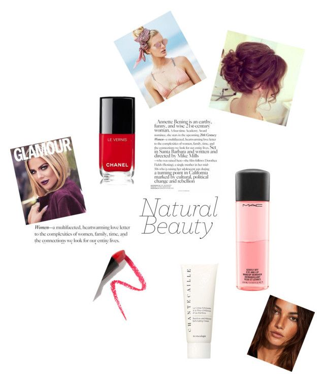 """""""makeup4"""" by arianak16 on Polyvore featuring beauty, Lapcos, MAC Cosmetics, Chanel, Chantecaille and Beach Riot"""