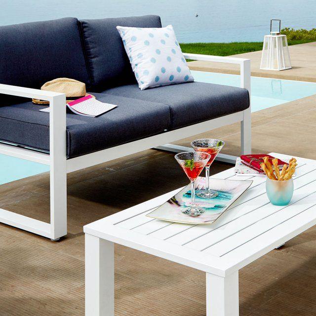 Salons, sets de meubles Jardin, terrasse Svita Rotin Synthétique ...