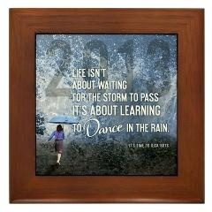 Framed Tile > 2013 Life Isn't About Waiting + Gifts > TimeToKickBuTs Store $12.99