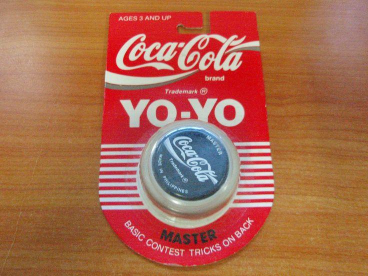 Vintage 1989 Genuine Russell Coca Cola Master Yo-Yo New & Sealed