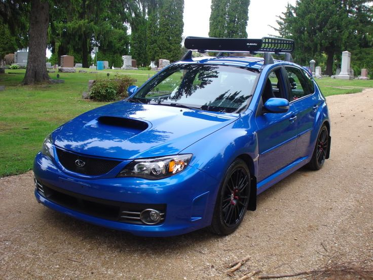 2008 STI Wagon · Subaru WrxThule Roof RackRally Car