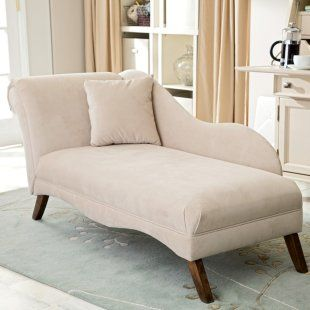 Chaise Lounge.. would need a few small decorative pillows. I LONG for one of these to relax on!!!