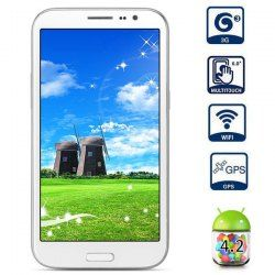 This phone will only work with GSM+WCDMA network Network type: GSM+WCDMA Frequency: GSM 850/900/1800/1900MHz WCDMA 850/2100MHz Unlocked for Worldwide use, please check if your local area network is compatible with this phone.  Main Features: Type: 3G Phablet Color: White Gift: PU Leather ... Click on Picture to go to Store