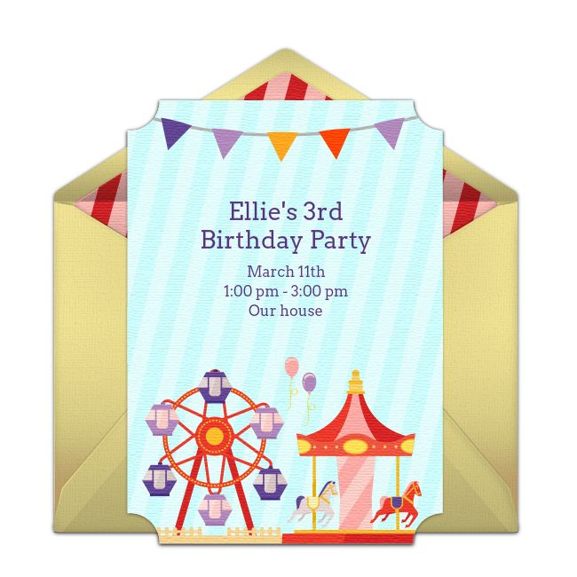 222 best free party invitations images on pinterest free party free carnival invitations stopboris