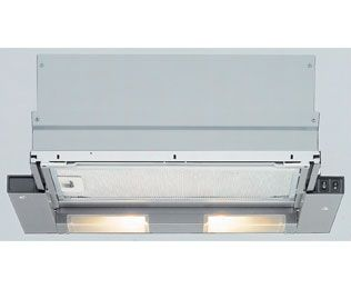 £185  Product image for Bosch Classixx DHI635HGB 60 cm Canopy Cooker Hood - Silver Grey