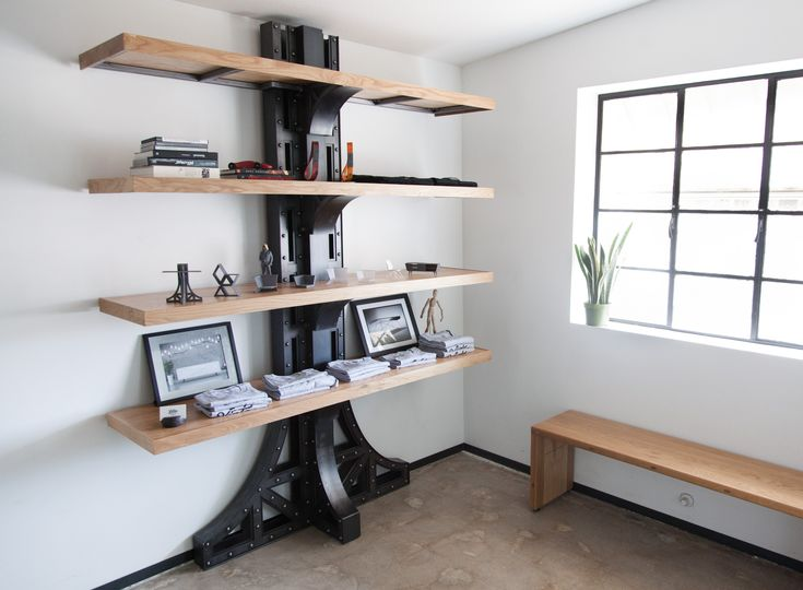 Manhattan Shelf Prototype – Vintage Industrial Furniture