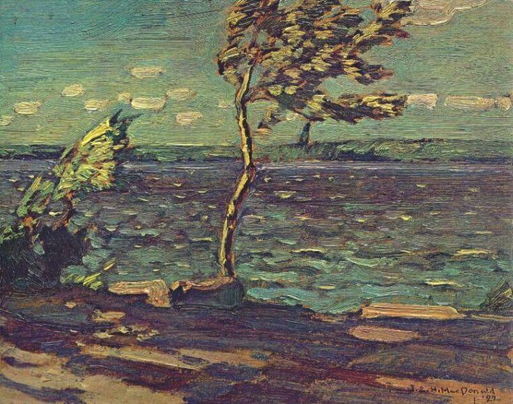 JEH-MacDonald-Windy-Day-Little-Turtle-Lake-1922.