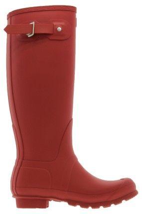 Buty na deszcz - Hunter - Kalosze czerwone