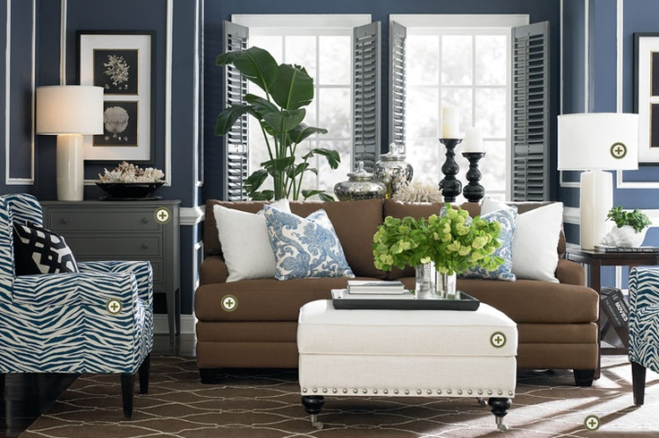 Bassett Furniture » Wonderful architectural details in this room and great details in the furnishings