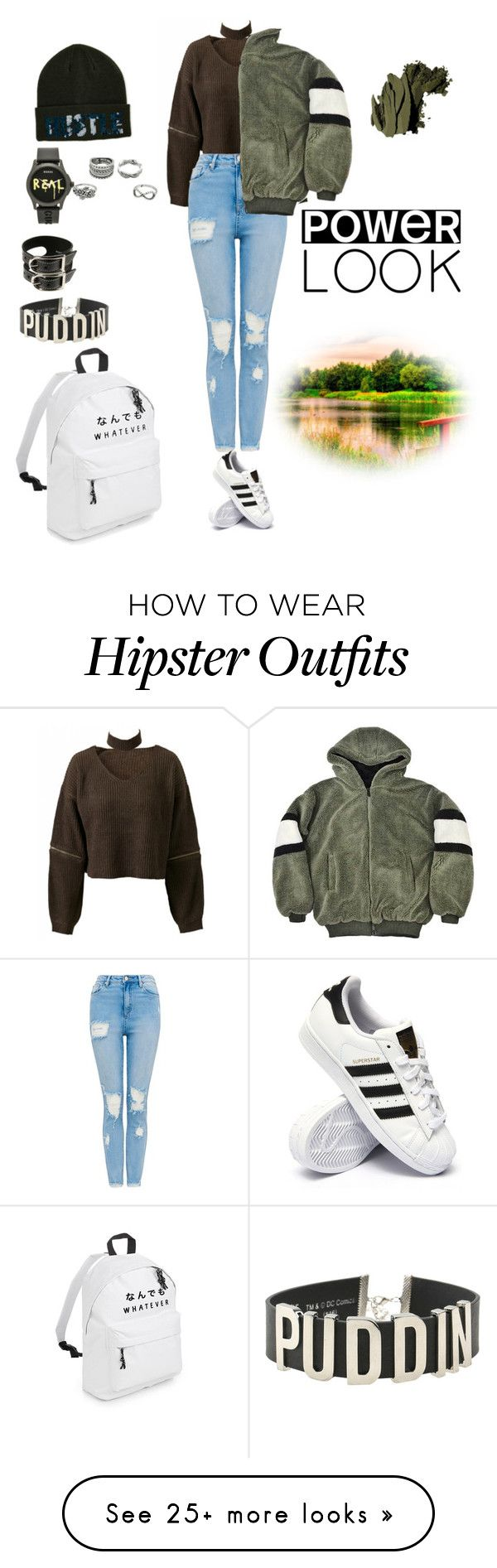 """""""Untitled #84"""" by eliya132401-1 on Polyvore featuring adidas, Steve Madden, Gucci, Acne Studios, DC Comics and Bobbi Brown Cosmetics"""