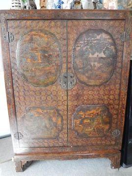 antieke chinese bruids - tv kast