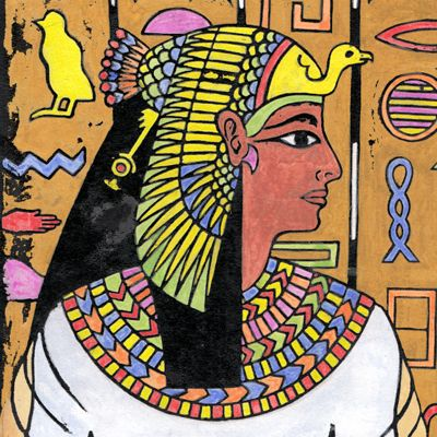 Learn about the Ancient Egyptians in our Egyptian Art Lessons. Discover the mysteries of their art, gods, crowns, and hieroglyphics. http://www.artyfactory.com/egyptian_art/egyptian_art_lessons.htm