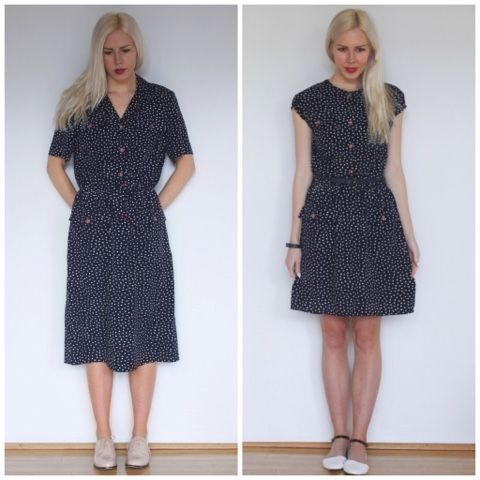 I found this dress recently and to be honest I didn't hate it as-is, but I knew it could be even better. It had great material and a good b...