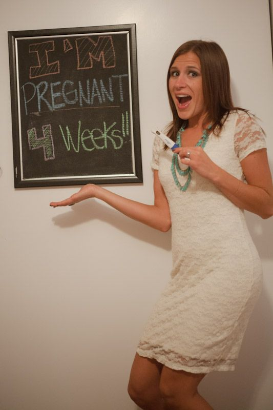 Chalkboard update to document your pregnancy and growing baby bump by doing a weekly chalkboard update with a photo!
