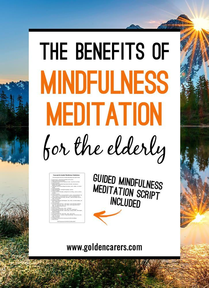 The Benefits Of Adult Coloring The 10 Best Selling: The Benefits Of Mindfulness Meditation For The Elderly