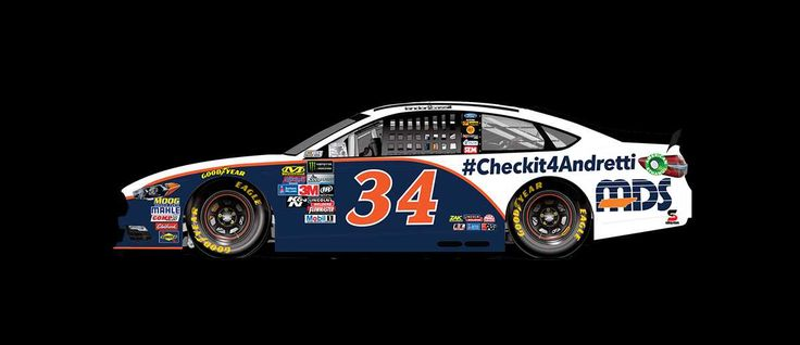 Paint Scheme Preview: Monster Energy All-Star Race Weekend  Wednesday, May 17, 2017  Landon Cassill will drive the No. 34 MDS/ CheckIt4Andretti Ford.*         *Will race in Saturday's Monster Energy Open for a chance to qualify for the Monster Energy All-Star Race  Photo: 13 / 25