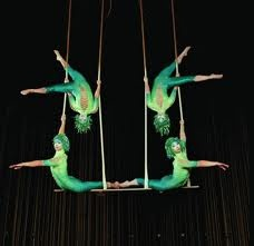 I ADORE the Cirque Du Soleil....it inspires and amazes me and makes me feel like anything is possible....