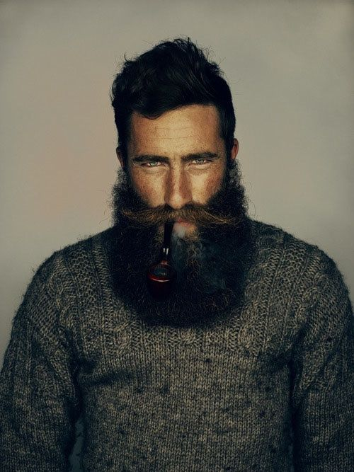 Astonishing This Beard Moustache Combo Is Awesome I Want One Of These On My Hairstyles For Women Draintrainus