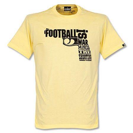 Copa Football Is War T-Shirt - Yellow - XXL Copa Football Is War T-Shirt - Yellow - XXL http://www.MightGet.com/february-2017-2/copa-football-is-war-t-shirt--yellow--xxl.asp