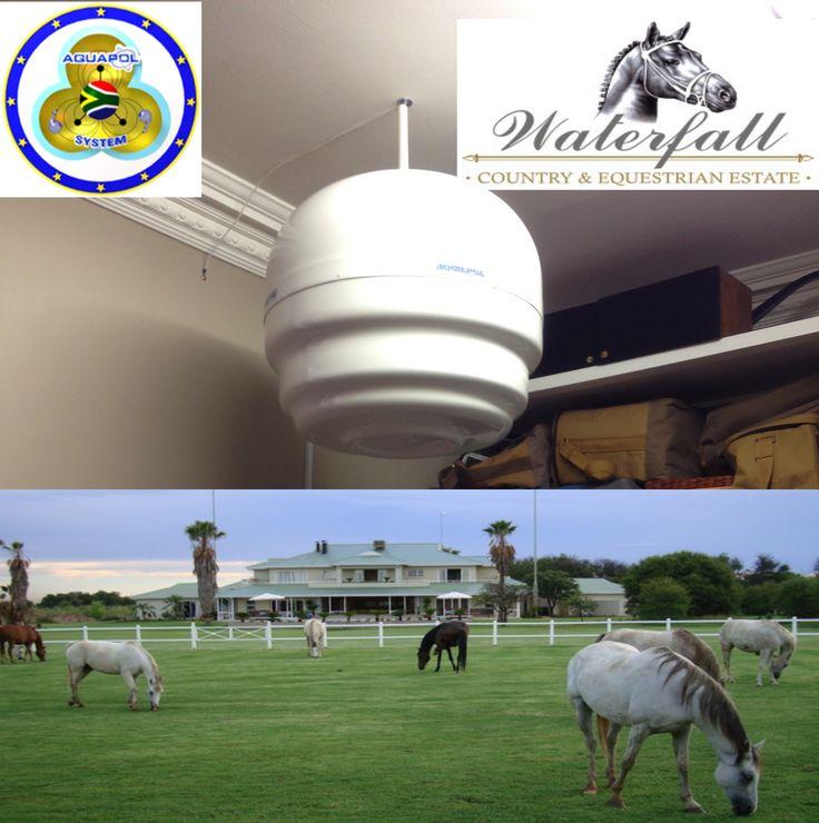 Apple Installation - Waterfall Equestrian Estate F.B