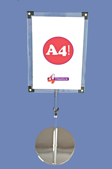We carry a wide range of free standing or wall mounted poster holders. Delivered #NZ wide! #4displays.co.nz