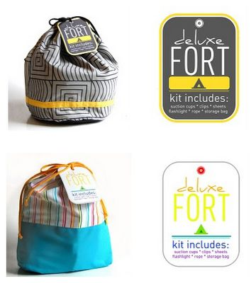 Kids Fort Building Kit.. this is awesome! What kid doesn't love building  a fort ?!?!