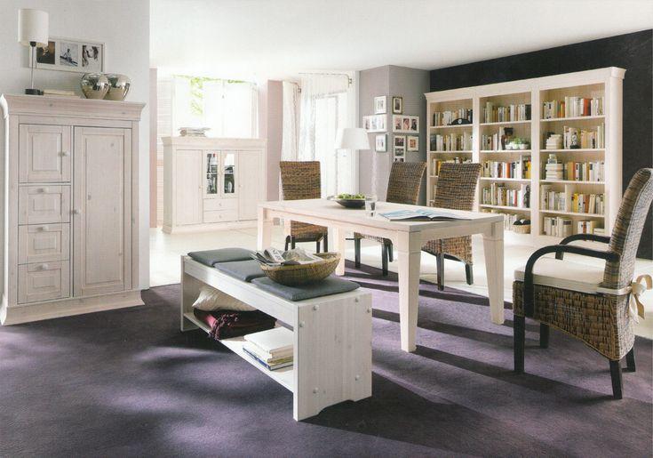 Коллекция мебели Boston , гостиная в белом цвете