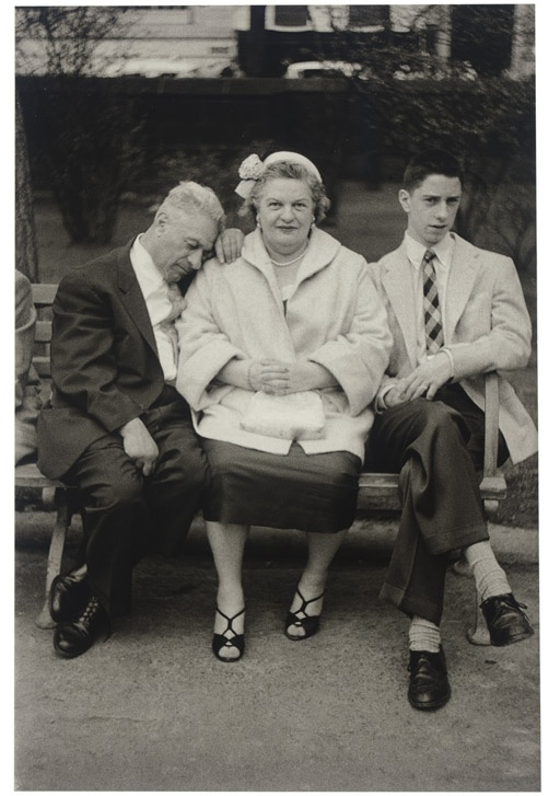 Diane Arbus, Family at Easter, NYC, 1956