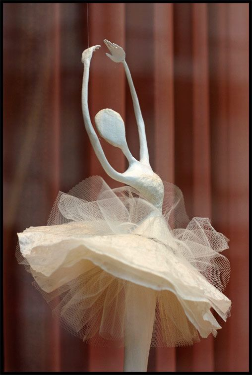 Laure Freyermuth - paper mache (NOTE TO SELF: Beautiful idea for any princess)