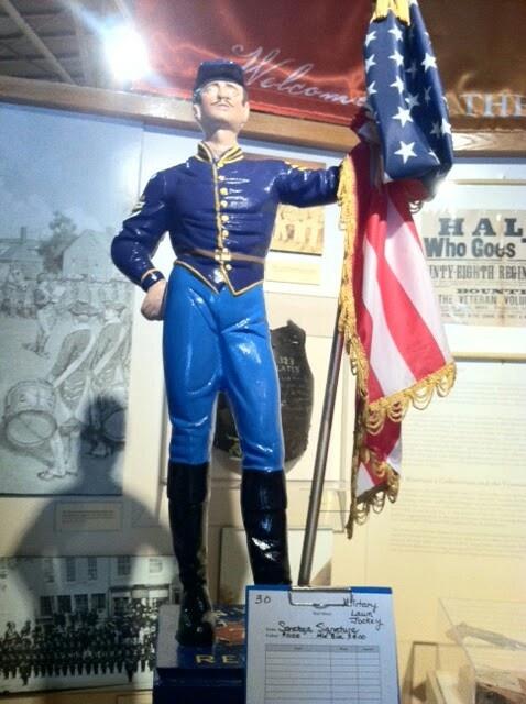 Finished  civil war soldier