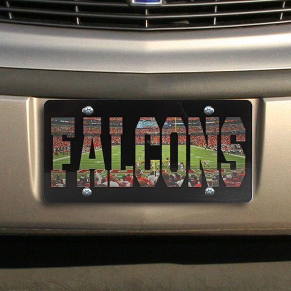Atlanta Falcons Stadium License Plate - $29.99