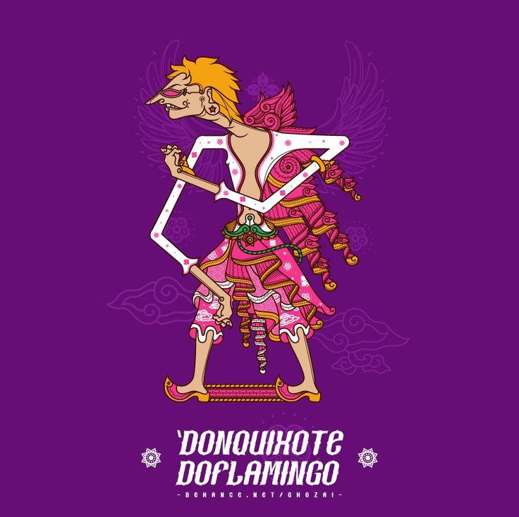 Wayang Kulit One Piece - Doffy