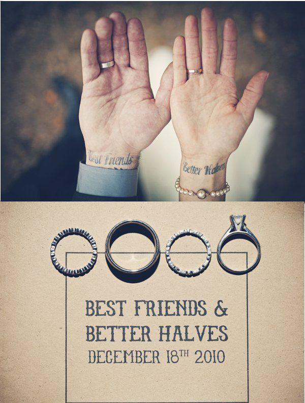 best friends + better halves