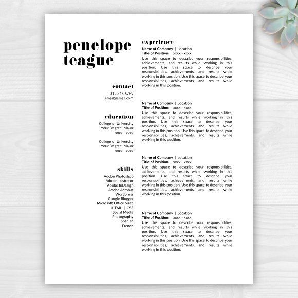 25+ trending Creative resume templates ideas on Pinterest Cv - how to make an amazing resume