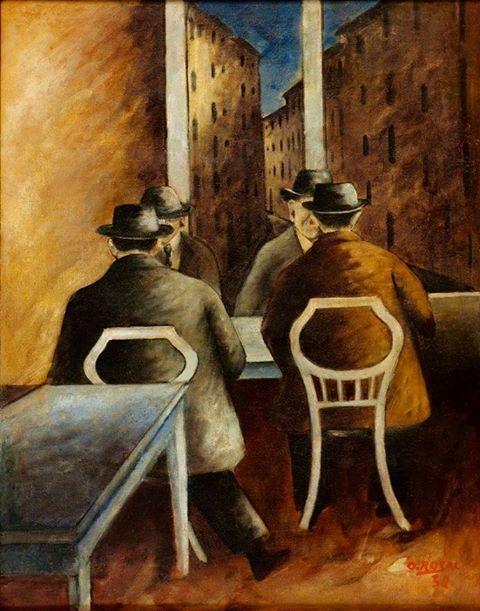 Ottone Rosai - Il Bottegone, 1932
