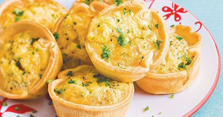 Fresh from the oven, these piquant tarts will be gone in seconds.