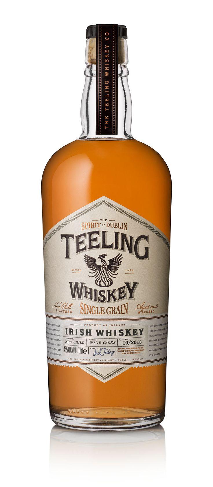 Irish Whiskeys | ... Irish Whiskey 525x1200 Review: Teeling Single Grain Irish Whiskey