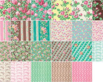 Cotton Fabric Snapshot  Verna Mosquera  5X5 by GabbysQuiltsNSupply