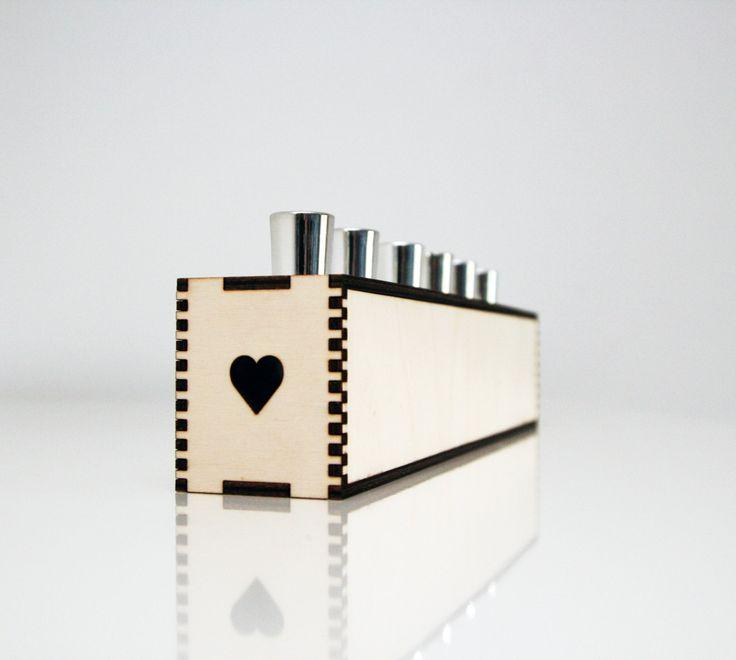 Nail polish organizer // BOX by WRUM on Etsy
