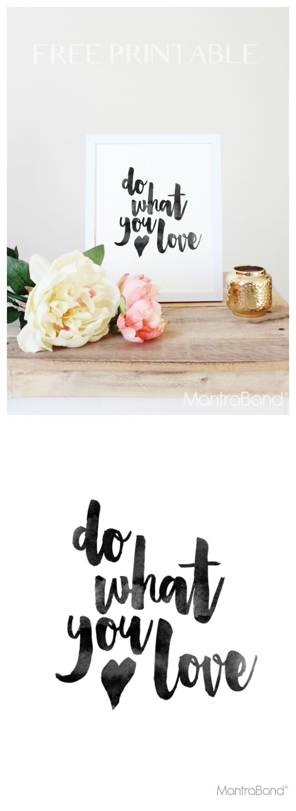 Do What You LOVE! | MantraBand® Bracelets