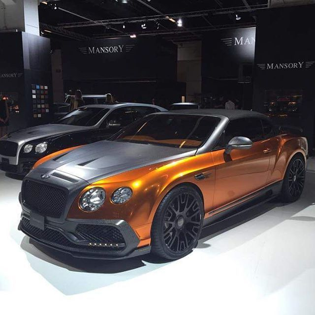 Bentley Continental Flying Spur Limousine By Exotic Limo: Mansory Bentley GTC