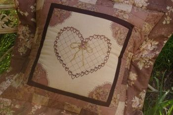 Victorian Chocolate Box Cushion