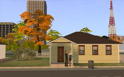 meetmetotheriver's Sims Tumblr — Guy Wrightley moves into a house just one house...