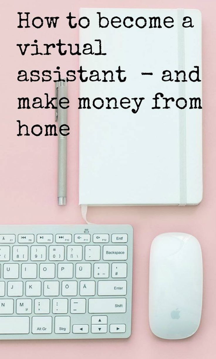 How to be a Virtual Assistant and make money form home - the perfect job for parents who want to stay home with their babies and a great way to earn money in your PJ's #moneymaking #virtualassistant