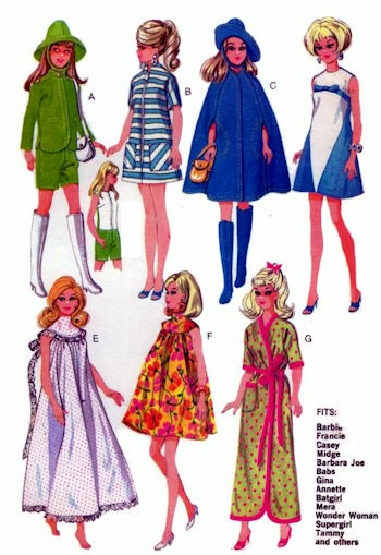 29 best Barbie Doll Patterns images on Pinterest | Doll patterns ...
