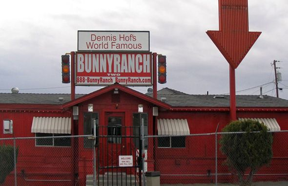 Bunny Ranch....no they don't sell bunny rabbits here. LOL. Nevada